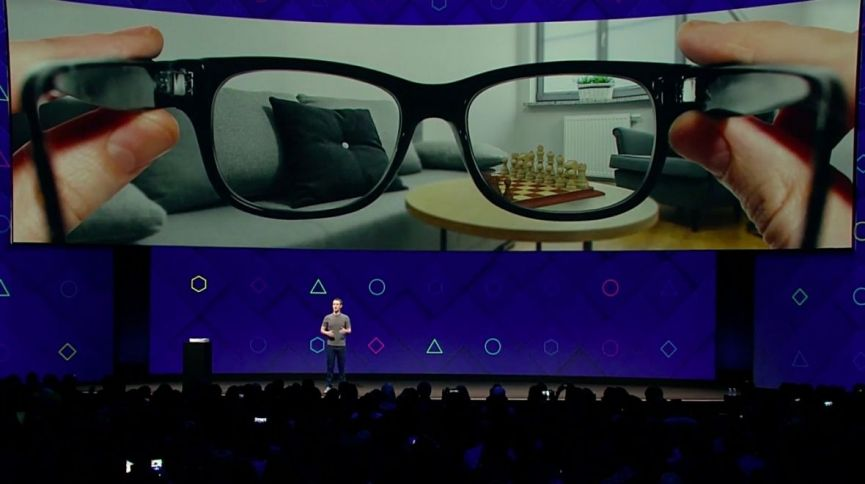 Facebook's AR glasses patent shows it's taking augmented reality seriously