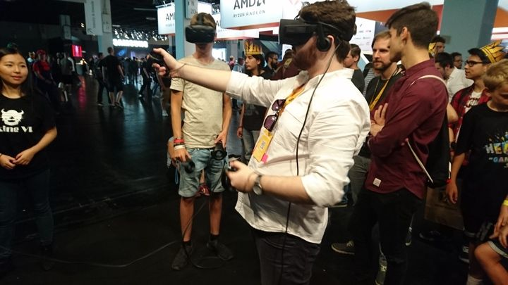 Gamescom 2017: In search of games that are better in VR