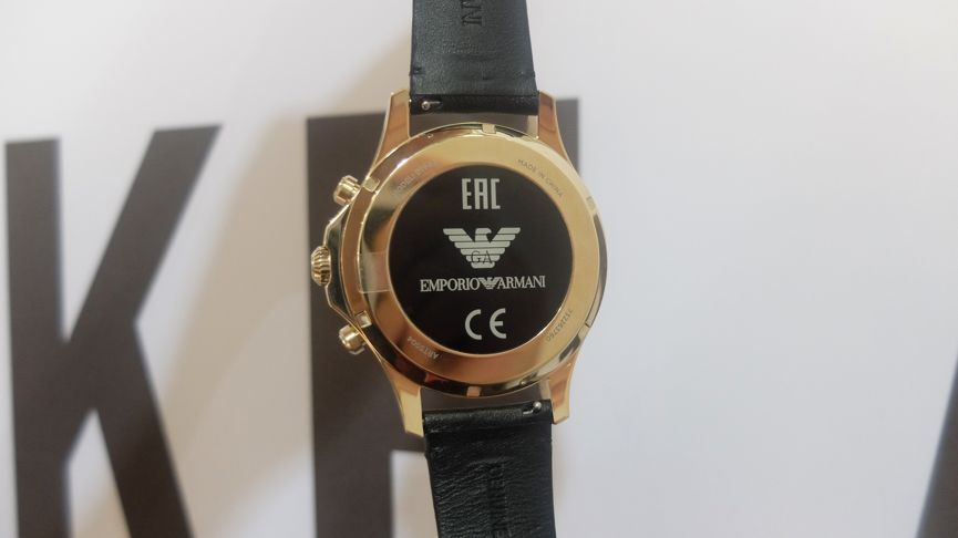 Emporio Armani Connected first look: Looking sharp, Android Wear