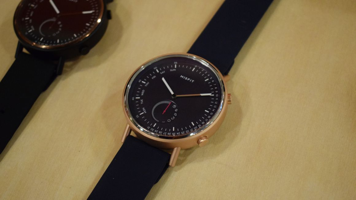 Misfit Command first look: Fossil puts its stamp on