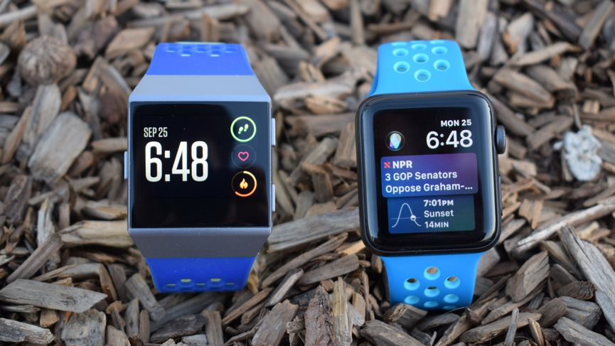 Fitbit Ionic v Apple Watch Series 3: The fitness smartwatch brawl