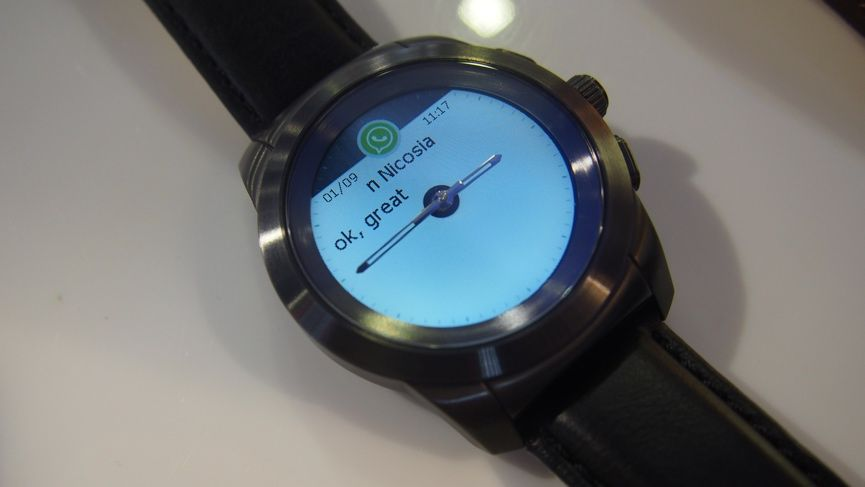 MyKronoz ZeTime hands on: A smartwatch that's looking to play with the big boys