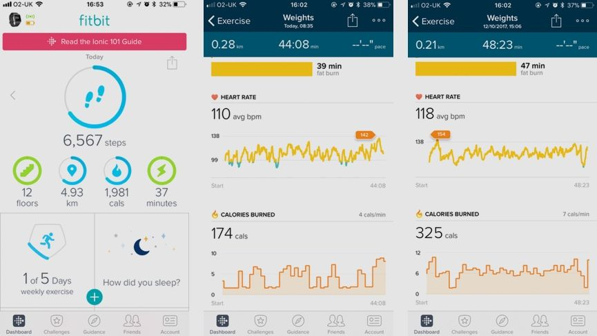 Week 4: Conor's strength training diary - I take the Fitbit Ionic for a spin