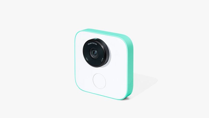 Google Clips is a wearable camera that learns to take great pictures