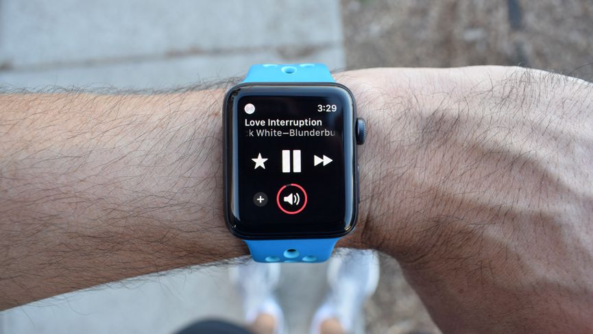 This is what it's like to stream music on the Apple Watch