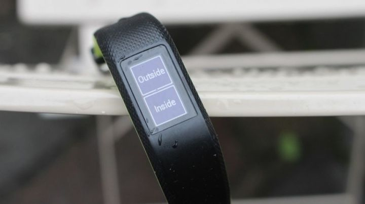 Best fitness tracker for running: Garmin Vivosport
