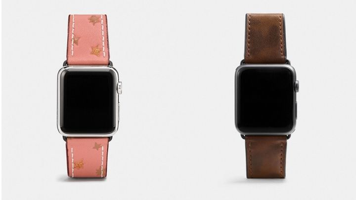 coach fall apple watch bands straps 2017