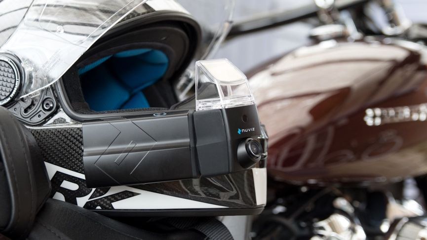 Living with the Nuviz Head-Up Display for motorcycle helmets