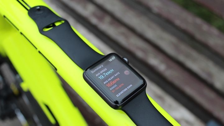 On your bike: I tested the Apple Watch for cycling, here's how I got on