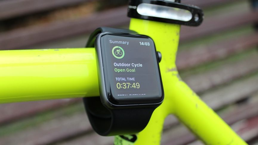 On your bike: I test out how the Apple Watch fares as a cycling tracker