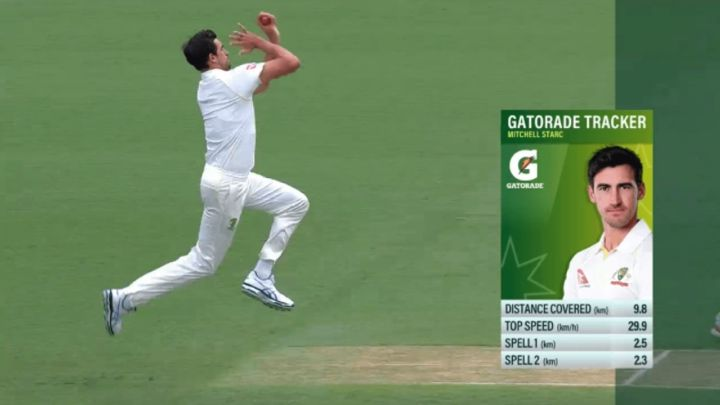Catapult teams up with Cricket Australia and Channel Nine to broadcast live wearable data