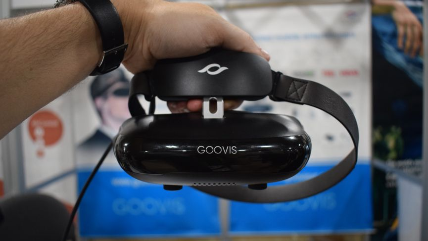 Goovis wants to give you a portable movie theater with the Cinego headset