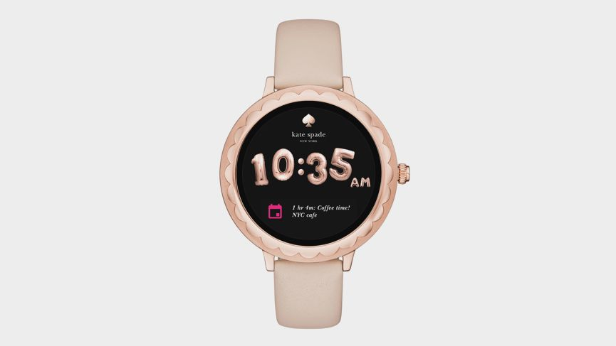 Kate Spade New York's Scallop Smartwatch brings whimsy chic to Android Wear