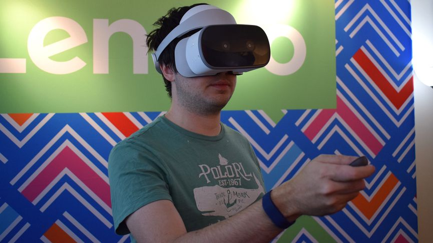 First Look: Lenovo Mirage Solo takes Daydream VR totally standalone - with limits