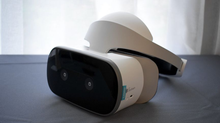 Lenovo's Mirage Solo is a standalone VR headset with Google Daydream
