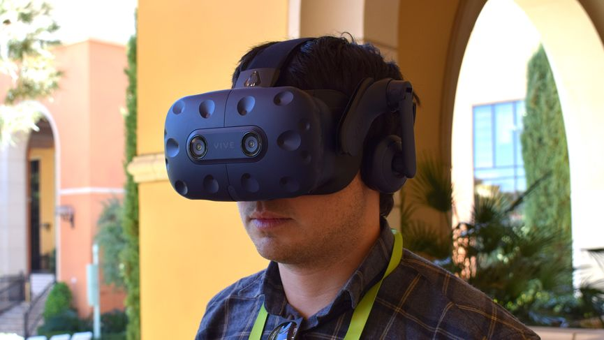 HTC Vive Pro headset is bringing it to the Rift with a big 3K upgrade