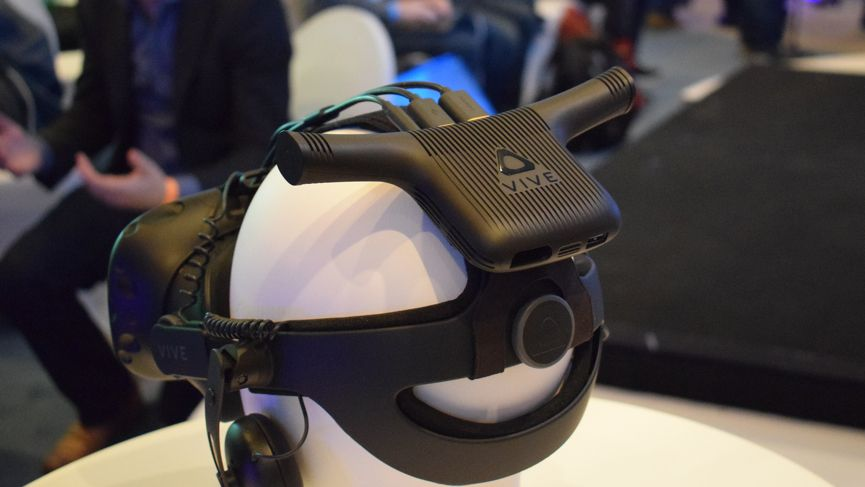 HTC Vive Pro is gorgeous to look through, but probably won't broaden the audience