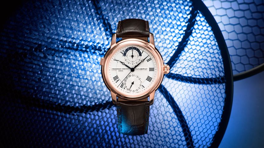 Frederique Constant's new hybrid smartwatch is a first for watch enthusiasts