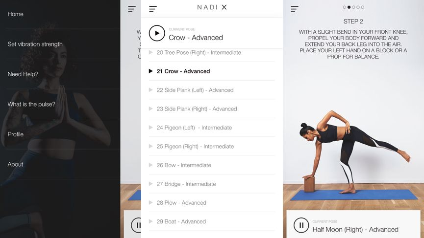 Living with: Nadi X smart yoga pants