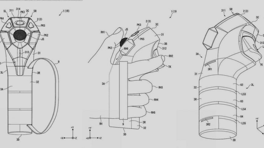 Field of View: Sony patents possible future PlayStation VR controllers