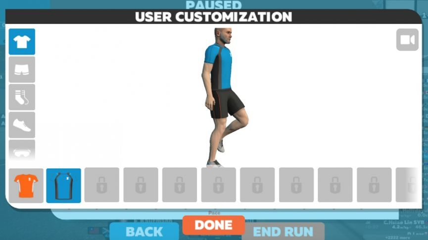 Heading out for a virtual run with Zwift Run Free Access
