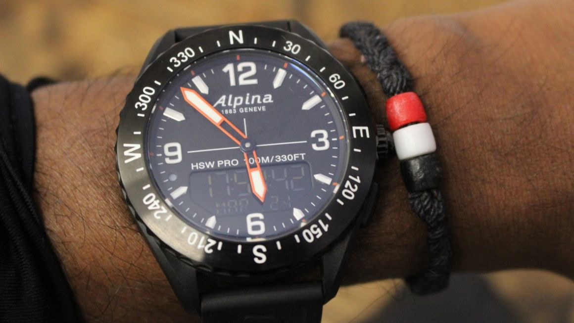 Alpina's AlpinerX is an outdoor-friendly hybrid in disguise
