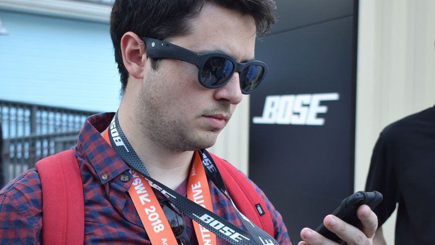 I explored SXSW by letting Bose's AR smartglasses guide me