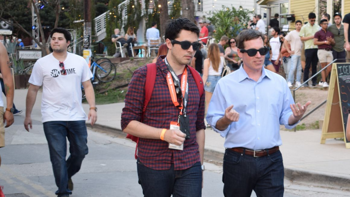 I explored SXSW, using Bose's AR smartglasses as my guide