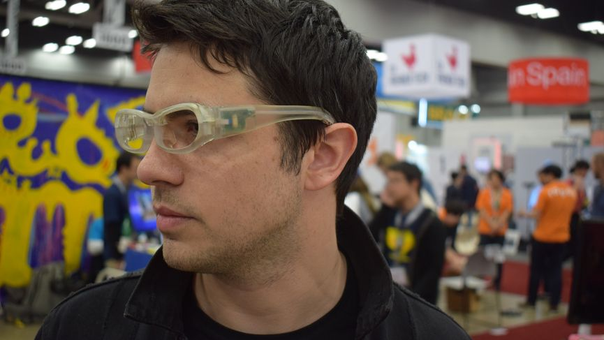 These stylish glasses will help people with single sided deafness