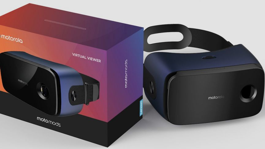 And finally: Motorola is building a VR headset for its smartphones