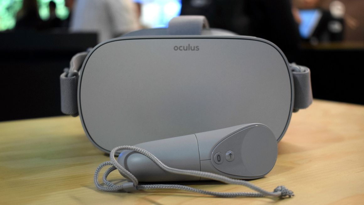First look: Oculus Go standalone VR, but it has a nose problem