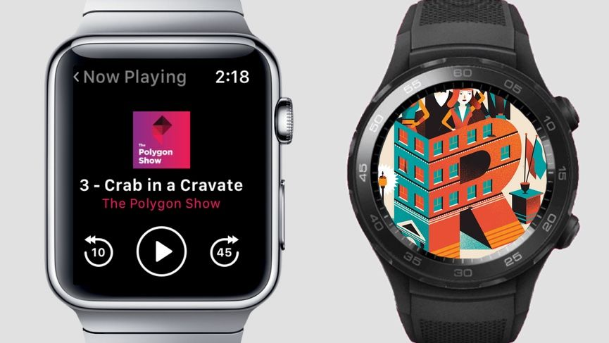 The best podcast apps for Apple Watch and Android Wear