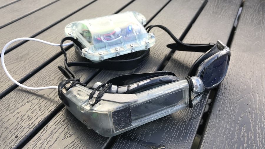 SwimAR is using Sony's holographic tech to smarten up swimming goggles