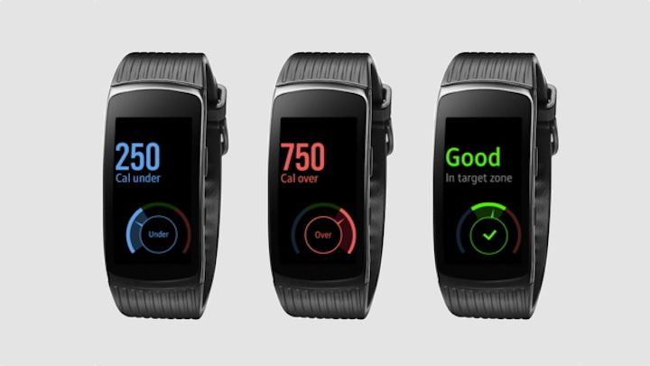 The new Samsung Gear Fit2 Pro update makes it easier to manage your weight