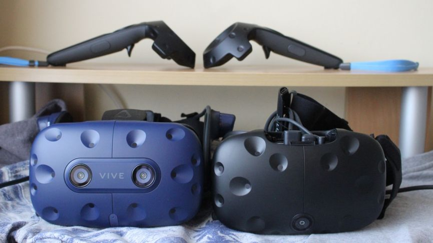HTC Vive Pro v Vive: Comparing the two VR headsets