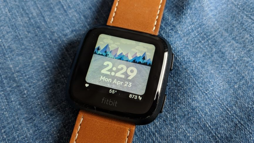 best fitbit versa watch faces
