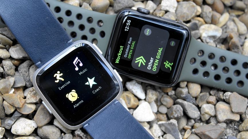 Apple Watch Series 3 v Fitbit Versa