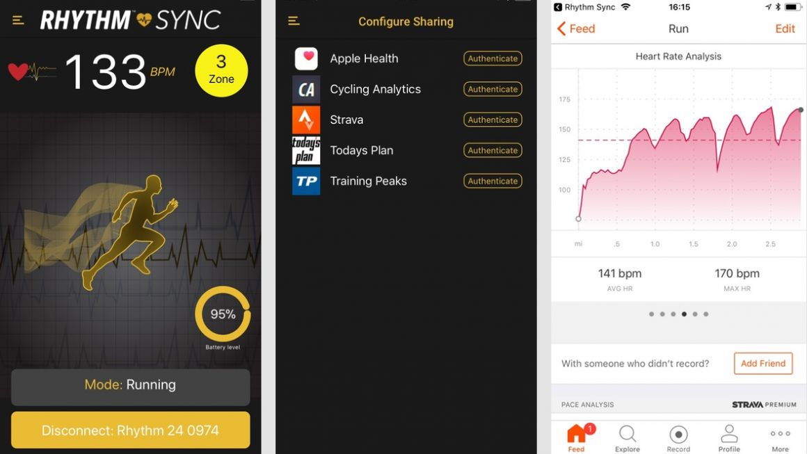 First run with Scosche's Rhythm24 heart rate armband