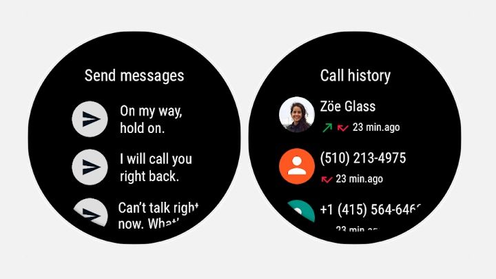 Google makes it easier to manage calls and message on Wear watches