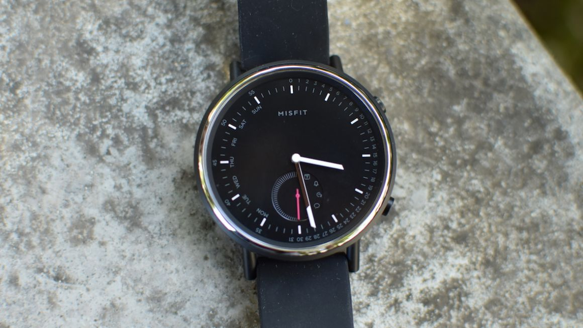 Misfit Command first look: Fossil's influence is plain to see