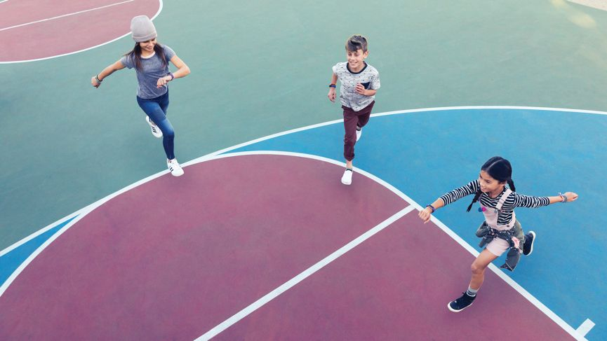 Charged up: If anyone can make kids move more, it's Fitbit
