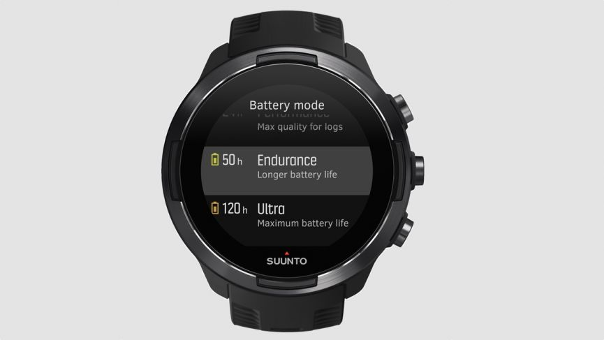 Suunto 9 makes sure you always have enough battery for your adventures