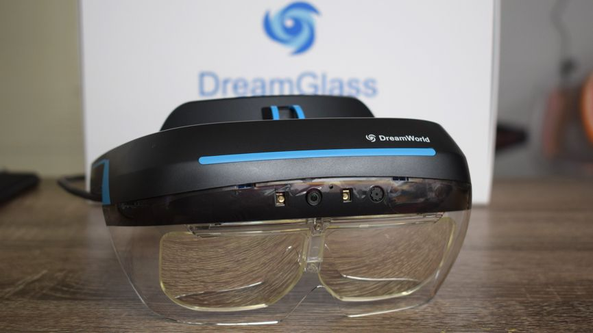 Trying on DreamGlass, the headset that's trying to make AR more accessible