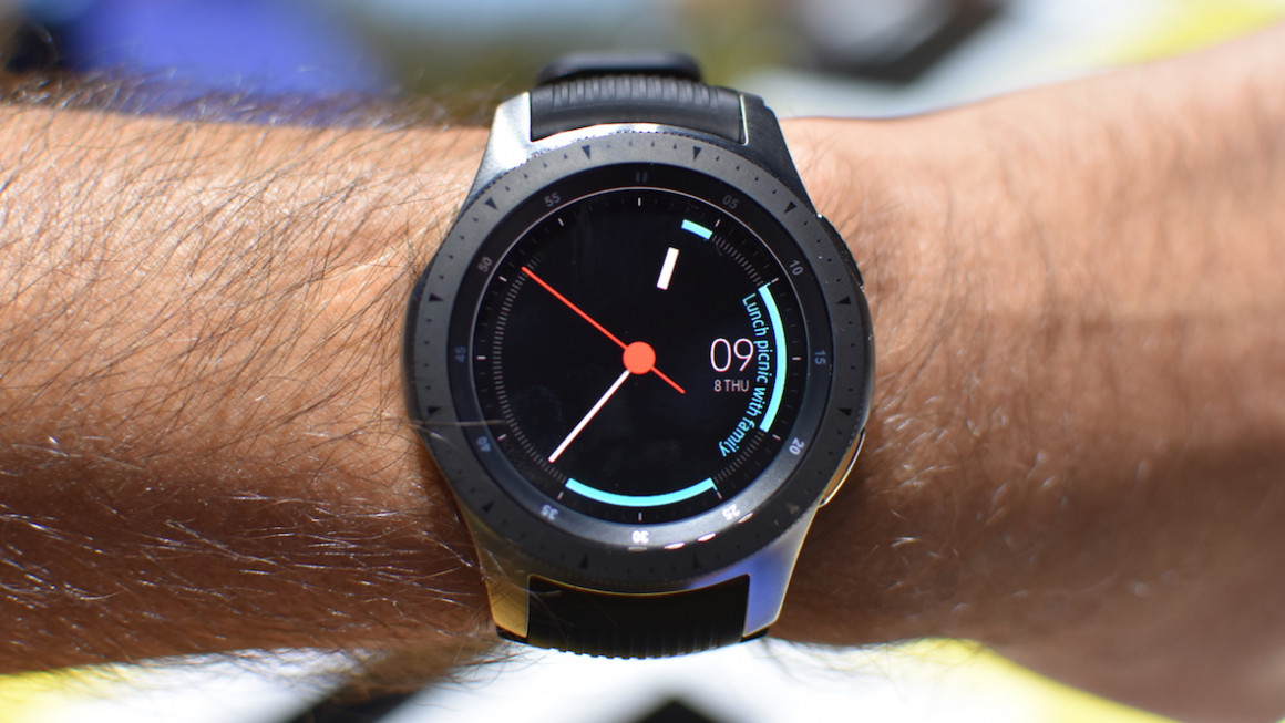 Hands on with Samsung's new Galaxy Watch