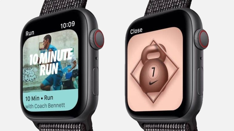 And finally: Apple Watch Series 4 Nike+ launches