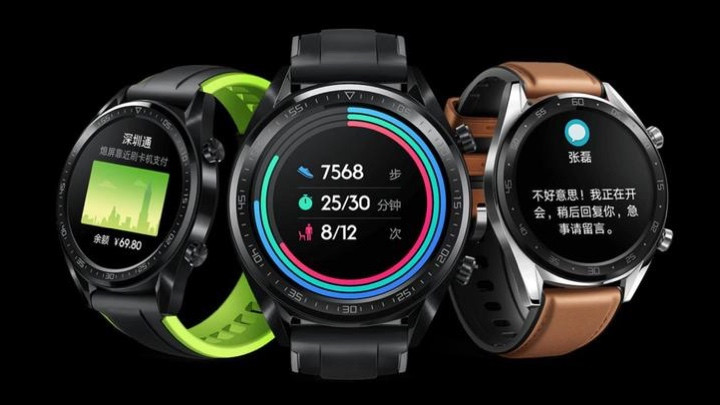 Huawei Watch GT boasts two-week battery life and serious ...