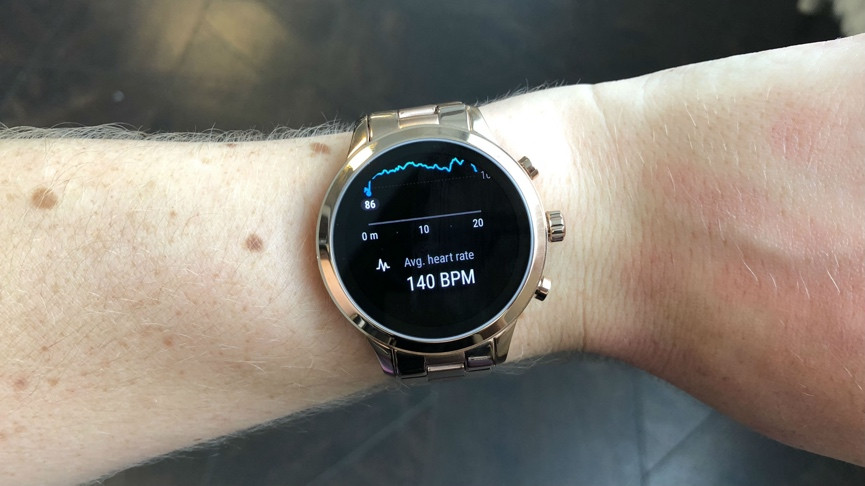 4fc4a400b Michael Kors Access Runway: Heart rate tracking and GPS