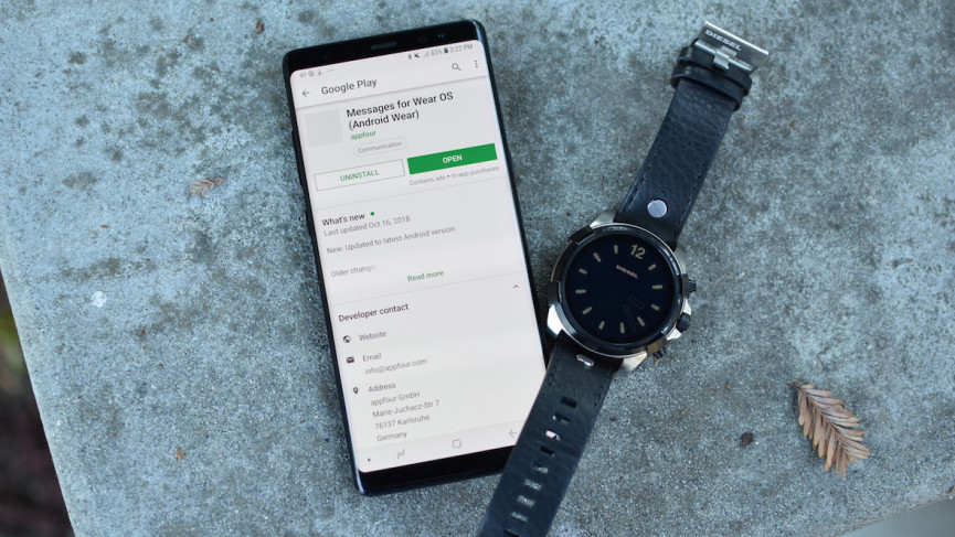 WhatsApp on Wear OS: Get the messaging service working on
