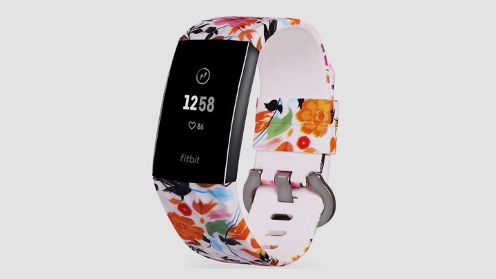 charge 4 flowery print band