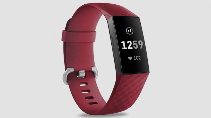 charge 4 sport band red